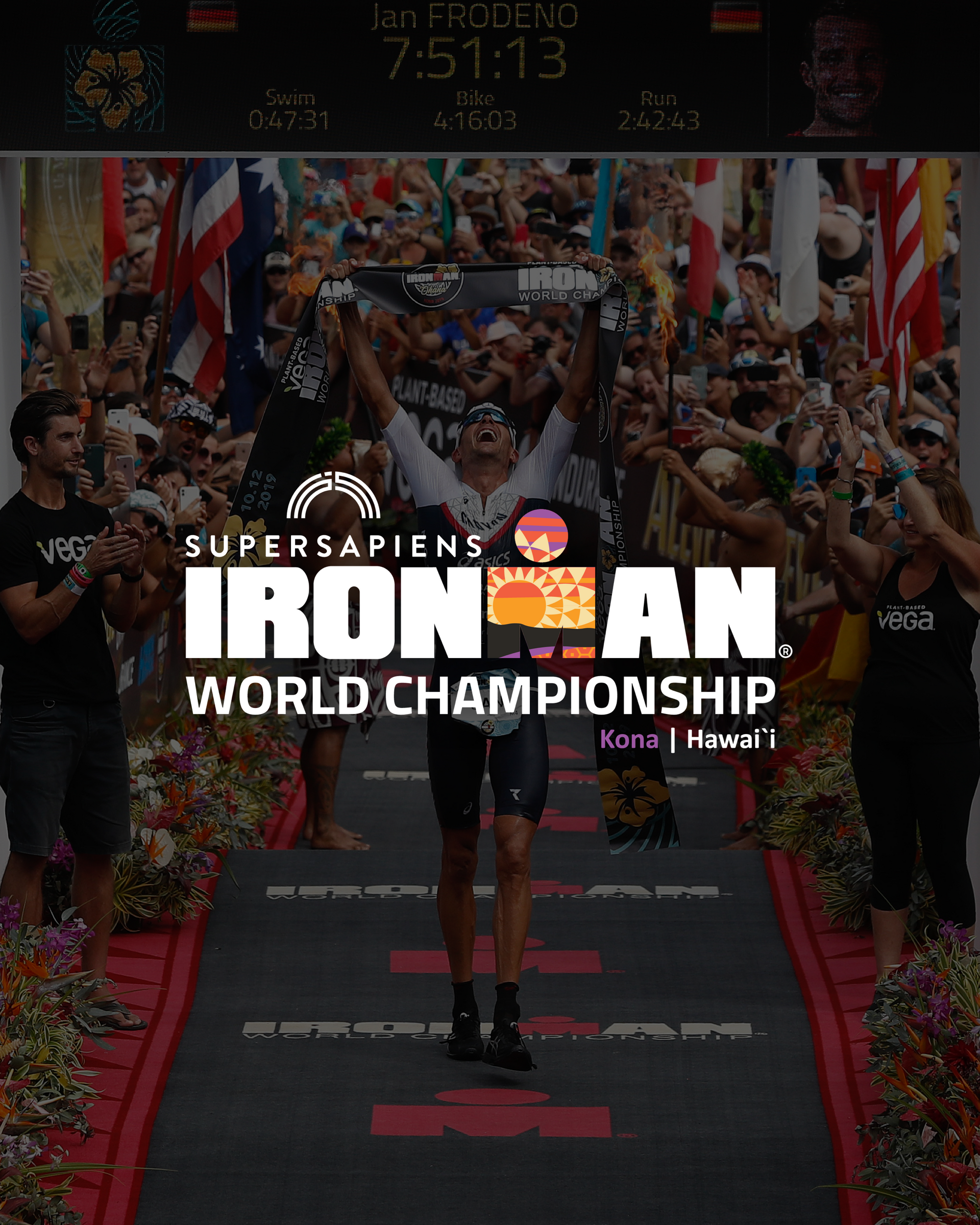 Supersapiens to be Title Sponsor for 2021 IRONMAN World Championship Kona
